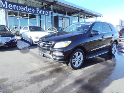 Certified Pre-Owned 2014 Mercedes-Benz M-Class ML350 AWD 4MATIC®