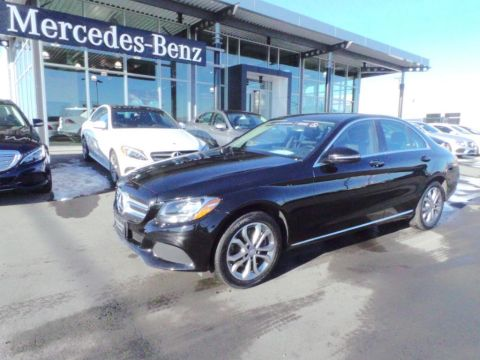 Certified Pre-Owned 2016 Mercedes-Benz C-Class C300 4MATIC® AWD 4MATIC®