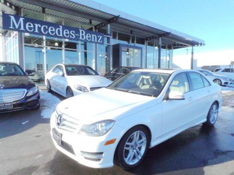Certified Pre-Owned 2013 Mercedes-Benz C-Class C300 4MATIC® AWD 4MATIC®