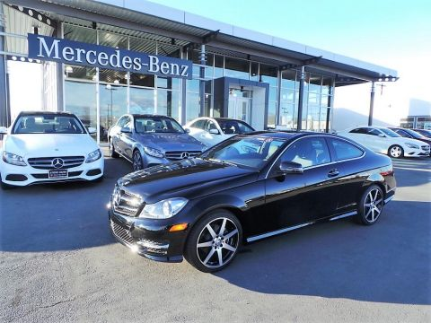 Certified Pre-Owned 2015 Mercedes-Benz C-Class C250 RWD 2dr Cpe C250 RWD