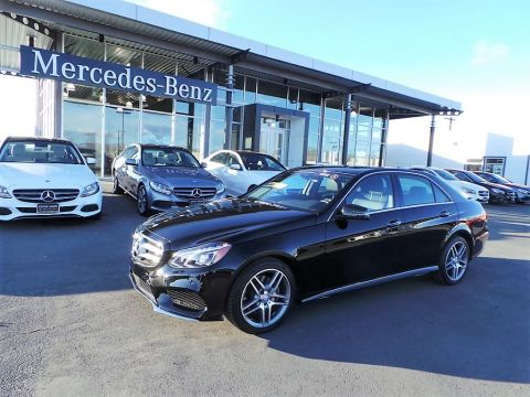 Certified Pre-Owned 2016 Mercedes-Benz E-Class E350 4MATIC® AWD 4MATIC®