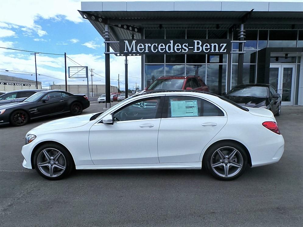 New 2016 mercedes benz c class c300 4matic 4 door sedan in for 2016 mercedes benz c class c300 4matic