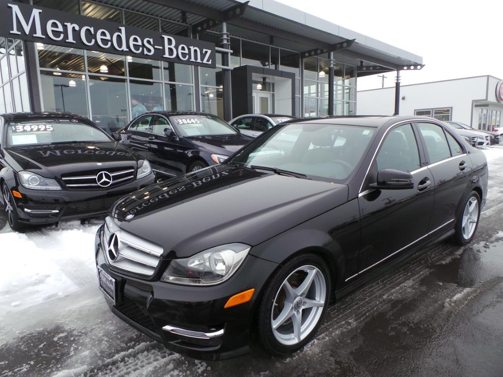 pre owned 2013 mercedes benz c class c300 4matic 4 door