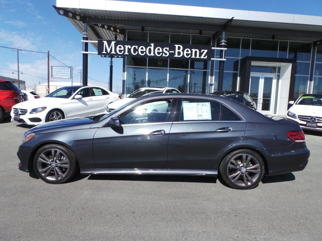 Pre owned 2014 mercedes benz e class e350 4 door sedan in for Mercedes benz buckhead preowned
